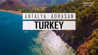 Turkey | Antalya | Adrasan Imagemovie [Full HD Video] (Meloma Production)(See the true beauty of Antalya, Turkey. Visit Adrasan in Antalya, feel the nature, the white beaches and the ocean. A Meloma Media Studio Production. Antalya ..., 2016-10-26T18:49:22.000Z)