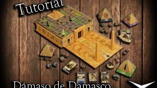 Tutorial Cleopatra y la sociedad de arquitectos (Juego de mesa-Español) // Juguemos: 150