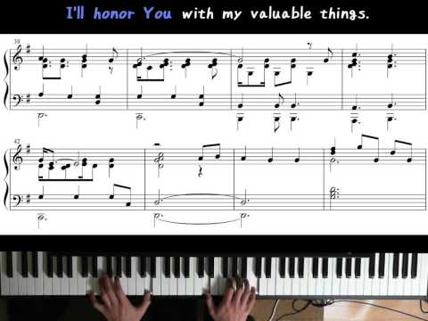 JW Broadcasting (May 2015) - Honor Jehovah With Your Valuable Things (Piano)
