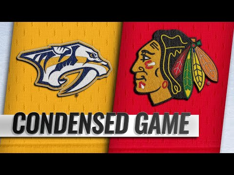 01/09/19 Condensed Game: Predators @ Blackhawks