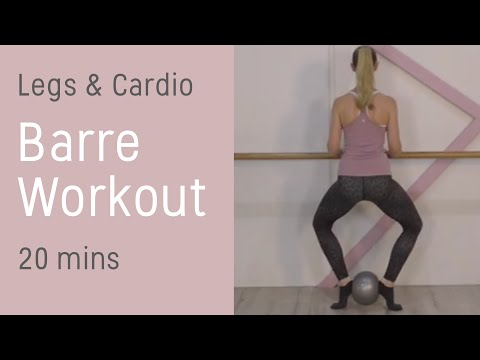Barre Class Workout | 25 minutes of Cardio For Toned Lean Legs