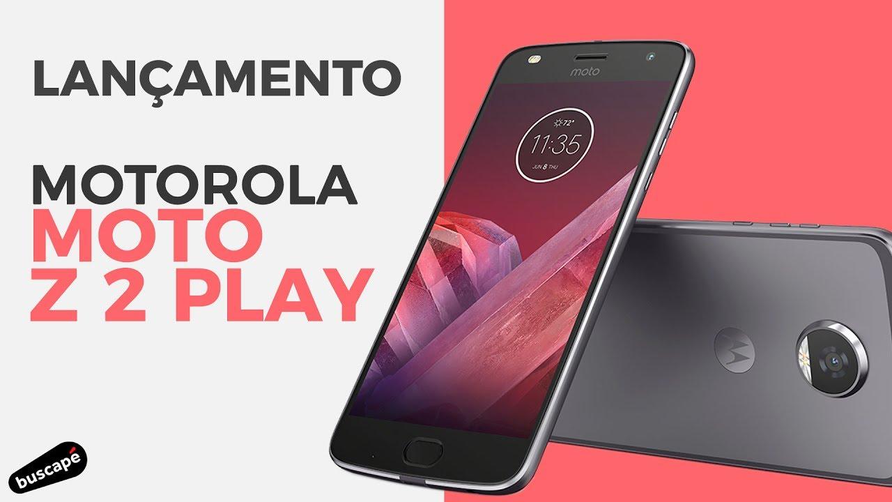 Lançamento do Motorola Moto Z 2 Play  LANÇAMENTO  - YouTube 9fc7d0245c