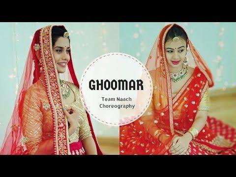 Ghoomar   Padmavati   Team Naach Choreography ft Ananya Thirumalai