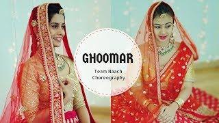 Ghoomar | Padmavati | Team Naach Choreography ft Ananya Thirumalai