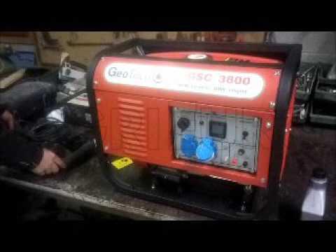 Primo avvio e funzionamento del generatore 2 8kw geotech for Geotech generatori