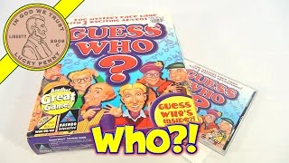 Guess Who ? PC CD Rom Computer Game, 1999 Hasbro Interactive - Guess Who