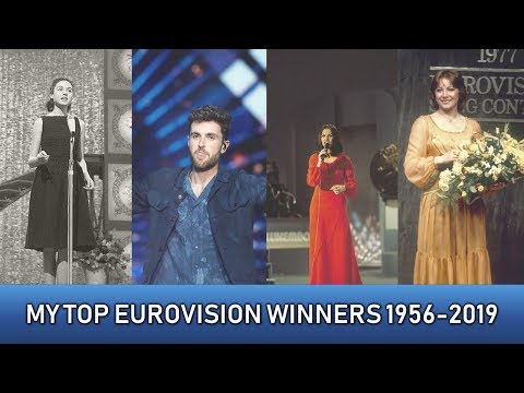 MY TOP 67: EUROVISION WINNERS 1956-2019