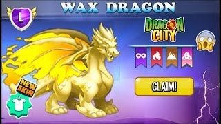 Dragon City: Wax Dragon, Let's Save Dragons Caged on your Islands! 😱