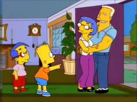 Bart Hits Homer over head with a Chair [Complete Sequence]