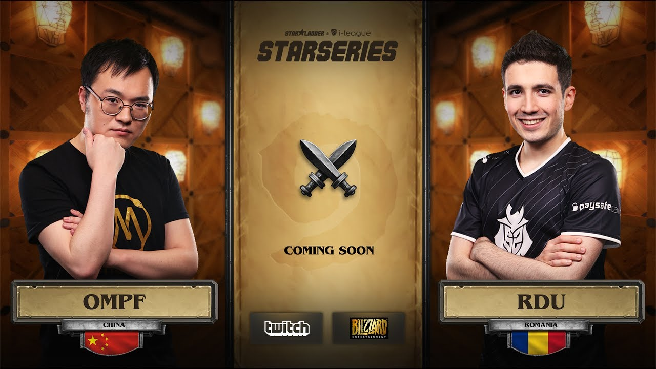 [EN] OMPF vs RDU | SL i-League Hearthstone StarSeries Season 3 (11.06.2017)