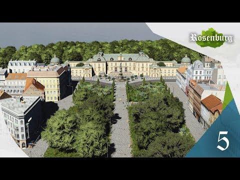 Cities Skylines: Rosenburg - EP 05 - Royal Palace & Shopping Street