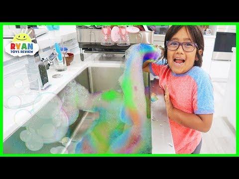 Rainbow Snake bubbles