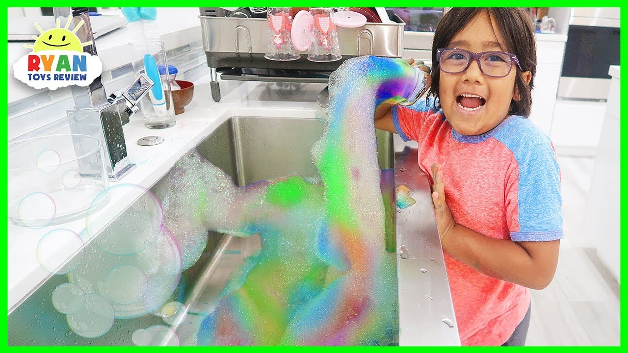 Rainbow Snake bubbles DIY Science Experiments at home!!!