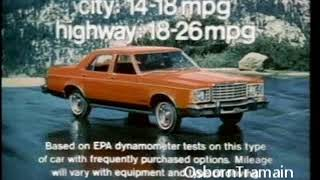 1975 Ford Granada Commercial   Introduction