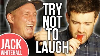 Jack Whitehall & Jamie Laing Eat HOT Chilli Peppers & Sauce! | No Laugh Challenge | Pt 2