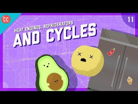 Heat Engines, Refrigerators, & Cycles: Crash Course Engineering #11
