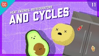 Heat Engines, Refrigerators, & Cycles: Crash Course Engineering #11