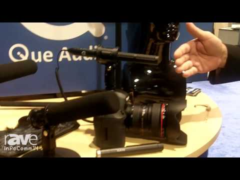 InfoComm 2014: Que Audio Highlights the 210 Hybrid Shotgun Microphone