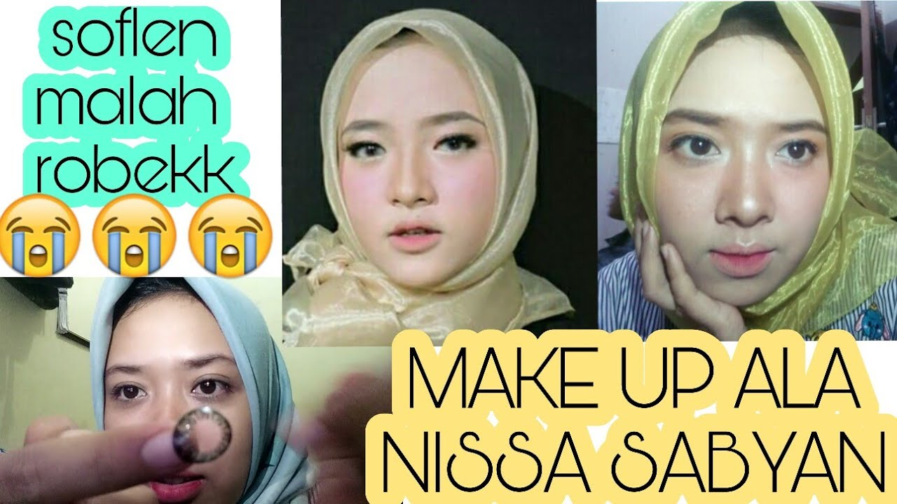make up ala nissa sabyan | yadbw