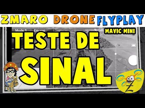 Testando O Sinal Do Mavic Mini Com Zmaro Em Drone FlyPlay