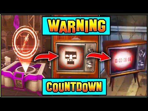 *WARNING* ROCKET LAUNCH COUNTDOWN! (Tv Brodcast) Fortnite Season 5 Storyline