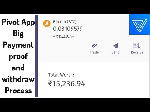 [Hindi] Pivot app Big Payment Proof, Power value and Withdraw Process