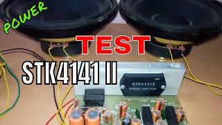 POWERFUL Stk4141 v.2 Amplifier board