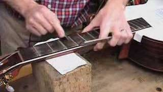 Fret Dressing and Set-Up for Classical guitar