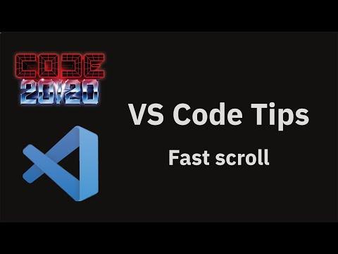 Fast scroll
