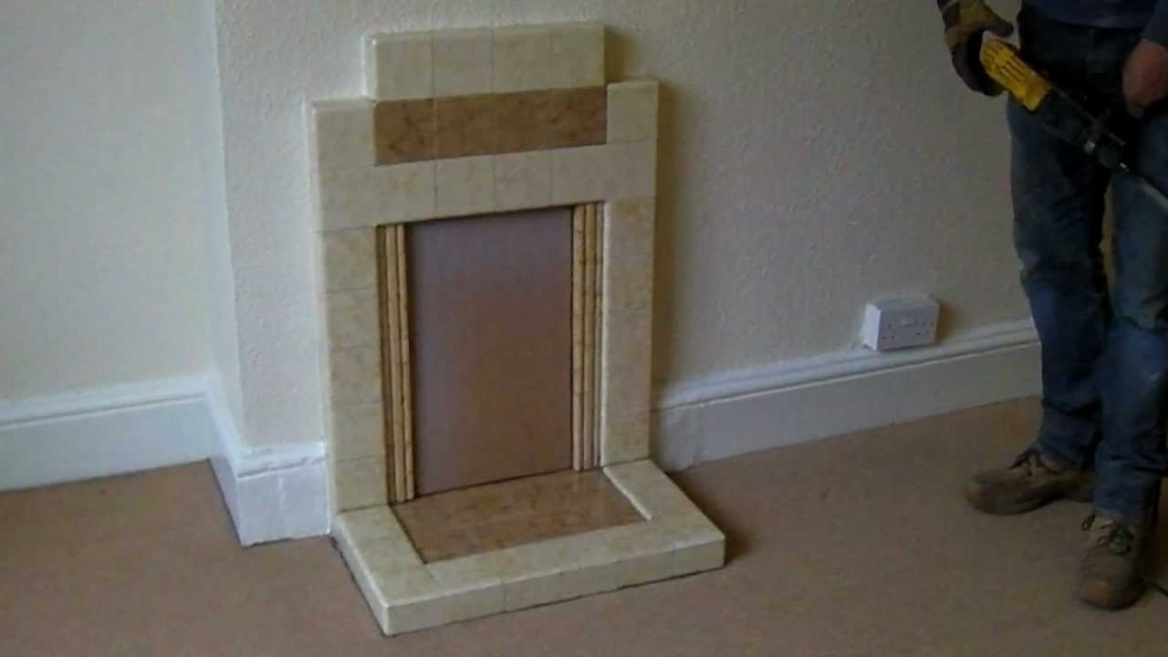 Removing A Fireplace Youtube