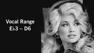 The Vocal Range of Dolly Parton