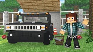 Minecraft : GARAGEM DOS CARROS DO PARQUE !! - ARK CRAFT SURVIVAL #45