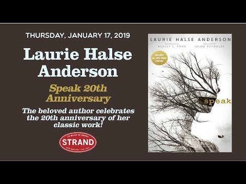 Laurie Halse Anderson | Speak 20th Anniversary