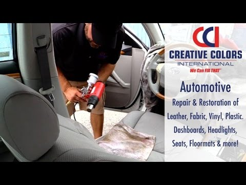 Auto Interior Repair Services | We Can Fix That!