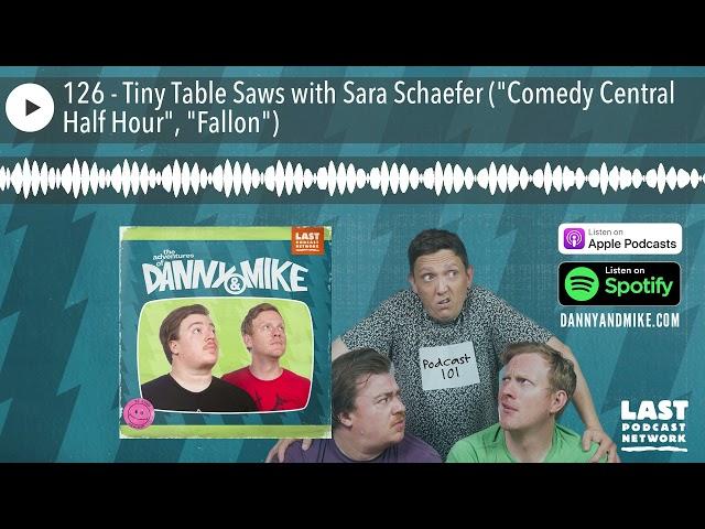 126 - Tiny Table Saws with Sara Schaefer (