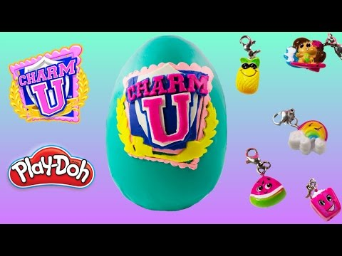 Charm U Collectible Charms 8 pack 4 pack + Blindbags + Playdoh Surprise Egg