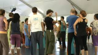 Ibiza Contact Improvisation Festival August September 2010 03 09 2010 10 30 Class Asaf Part 2