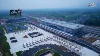 合福高铁航拍 high-speed rail