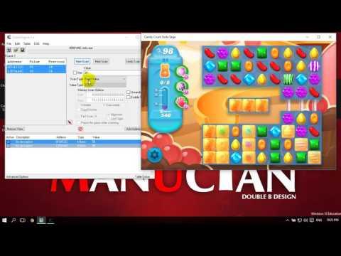 hack candy crush soda saga trên máy tính - Hướng dẫn Hack Candy Crush Soda Saga trên windows 10
