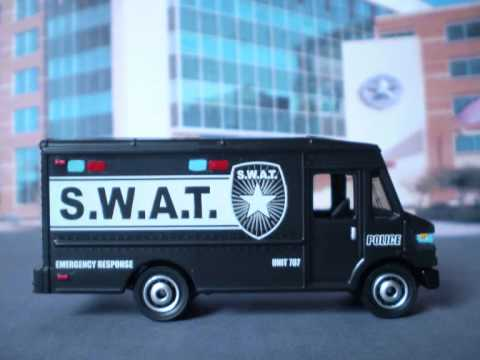 Matchbox MBX Police S.W.A.T. Units.wmv - YouTube