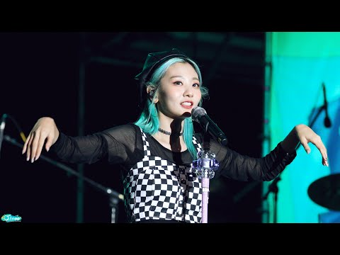 [4K] 190921 볼빨간사춘기 '워커홀릭 (Full Band Ver.)' 직캠 BOL4 'Workaholic' Fancam (LET'S ROCK FEST) By Jinoo