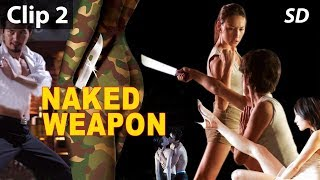 Girls Killing Each Other Scene - Naked Weapon | English Movies 2019 Full Movie | Action Movies 2019
