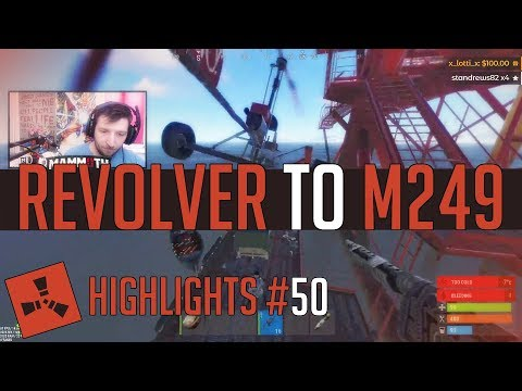 Revolver to M249! (Rust Highlights #50) thumbnail
