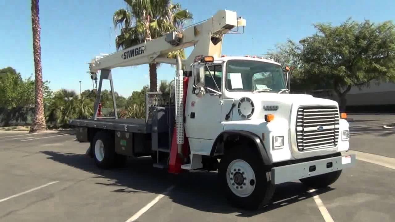 1994 Ford L8000 Simon R-O TC-2047 10 Ton Crane Truck For ...