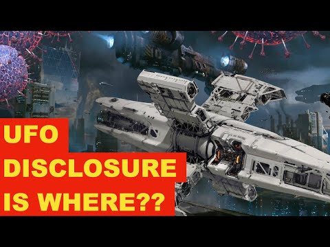 UFO Disclosure: Time's Up..