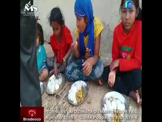 Crianças órfãs compradas antes de serem vendidas a traficantes de órgãos.