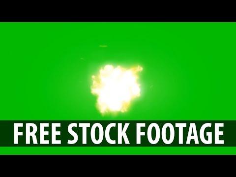 1080p MUZZLE FLASH Green Screen With Audio (Free Download in Description)
