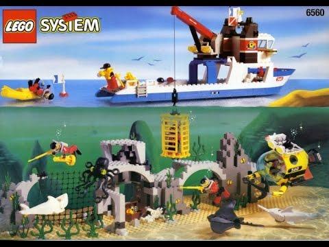 lego system l6560 diving expedition explorer youtube. Black Bedroom Furniture Sets. Home Design Ideas