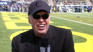 Nike co-founder and Oregon alum Phil Knight on giving back: 'Without Oregon and Stanford there...