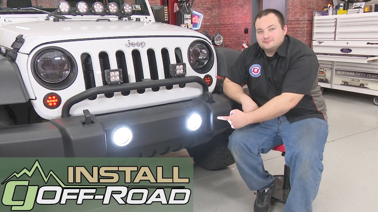 Jeep Wrangler JK Diode Dynamics Fog Light Bulb LED Cool